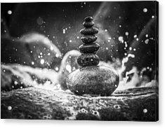Rock Balance Acrylic Print