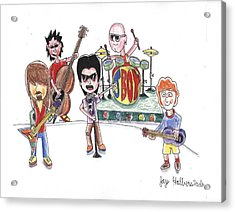 Rock Band Acrylic Print