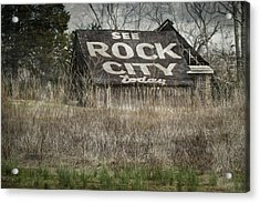 Rock City Acrylic Print