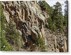 Acrylic Print featuring the photograph Rock Climbers Paradise by James BO Insogna