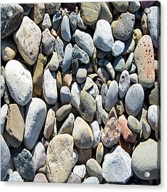 Rock Collection Acrylic Print