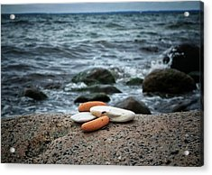 Rock Collection Acrylic Print by Karen Stahlros