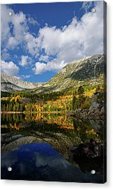 Rock Creek Lake Reflection Eastern Sierra Acrylic Print