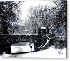 Rock Creek Parkway Washington Dc Acrylic Print by Fareeha Khawaja