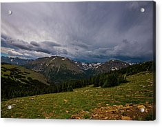 Rock Cut 3 - Trail Ridge Road Acrylic Print