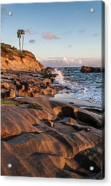 Acrylic Print featuring the photograph Rock Formation Along The California Coast by Cliff Wassmann