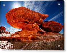 Rock Formation Acrylic Print