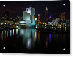 Rock Hall Reflections Acrylic Print