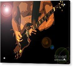 Rock Hero Acrylic Print by David Lee Thompson