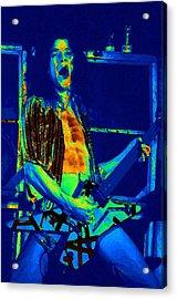 Rock 'n' Roll The Cosmic Blues Acrylic Print by Ben Upham