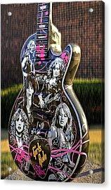 Rock N Roll...girls Rule Acrylic Print