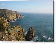 Rocks Near To Cabo Da Roca Acrylic Print