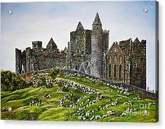 Rock Of Cashel Ireland Acrylic Print by Avril Brand