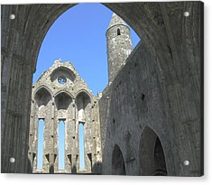 Rock Of Cashel Acrylic Print