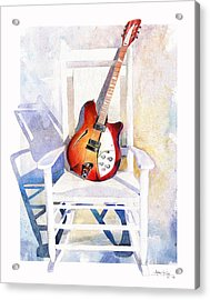 Rock On Acrylic Print