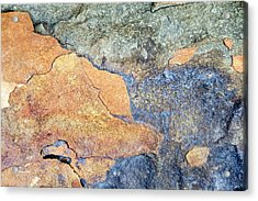 Acrylic Print featuring the photograph Rock Pattern by Christina Rollo