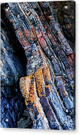 Acrylic Print featuring the photograph Rock Pattern Sc01 by Werner Padarin