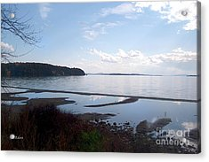 Acrylic Print featuring the photograph Rock Point North View Horizontal by Felipe Adan Lerma