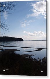 Acrylic Print featuring the photograph Rock Point North View Vertical by Felipe Adan Lerma