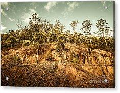 Rock Quarry Landscape Acrylic Print by Jorgo Photography - Wall Art Gallery