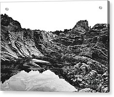 Acrylic Print featuring the photograph Rock by Rebecca Harman