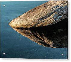 Rock Reflection Acrylic Print