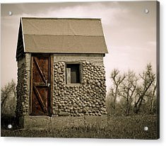 Rock Shed 2 Acrylic Print by Marilyn Hunt