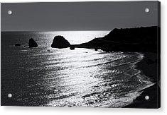 Rock Silhouette Acrylic Print