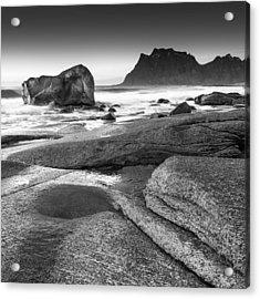 Rock Solid Acrylic Print