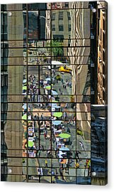 Rock Street Fair Acrylic Print