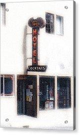 Rockabilly Heaven Acrylic Print by Everett Bowers