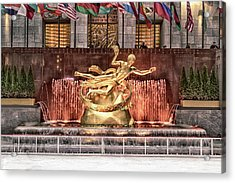 Rockefeller Center Acrylic Print