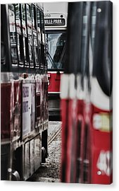 ...rockets... Acrylic Print by Russell Styles