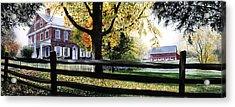 Rockford In Autumn Acrylic Print