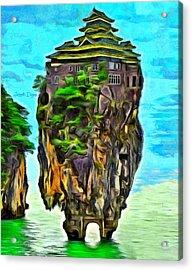 Rockhouse Island - Da Acrylic Print