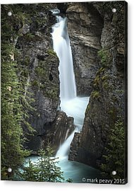 Rockies Waterfall Acrylic Print