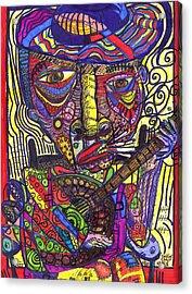 Rockin Chair Acrylic Print by Robert Wolverton Jr