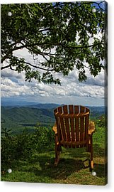 Rocking The Smokies Acrylic Print