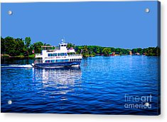 Rockport Boat Line Saint Lawrence Seaway Acrylic Print