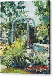Rockport Garden Gate Acrylic Print