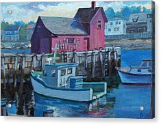 Rockport  Acrylic Print