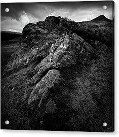 Rocks And Ben More Acrylic Print