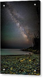 Rocks And Stars Acrylic Print by Brent L Ander