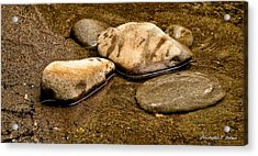 Rocks At Rest Acrylic Print by Christopher Holmes