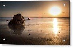 Rocks At Sunset 3 Acrylic Print