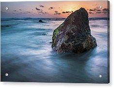 Rocks At Sunset 4 Acrylic Print