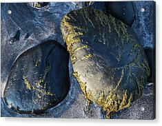 Acrylic Print featuring the photograph Rocks From Talisker Beach 2 by Davorin Mance