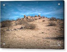 Rocks On The Hill Acrylic Print