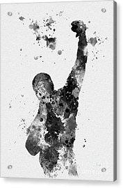 Rocky Balboa Acrylic Print by Rebecca Jenkins