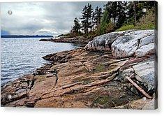 Burrard Inlet Vancouver British Columbia Acrylic Print